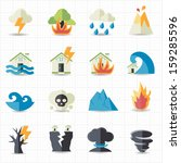 accident,broken,burning,colorful icons,cracked,crisis,damaged,danger,disaster,disaster icons,earthquake,environmental,erupting,exploding,fire