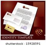 identity template | Shutterstock .eps vector #15928591