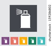 spray with chemicals.  | Shutterstock . vector #159286802