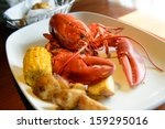 Roasted Live Maine Red Lobster...