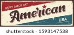 happy labor day america vector...   Shutterstock .eps vector #1593147538