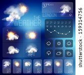 background,beautiful,clean,clear,climate,clouds,communication,concept,design,forecast,icons,infographic,interface,lightning,meteorology