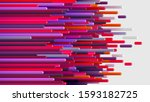 connection colorful striped... | Shutterstock .eps vector #1593182725
