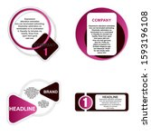 set of headliner sign....   Shutterstock .eps vector #1593196108