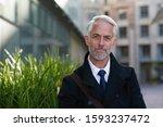 Portrait Mature Businessman...