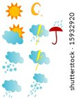 weather icon | Shutterstock .eps vector #15932920
