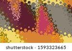 festive decoration. colorful... | Shutterstock . vector #1593323665