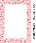 vector white background with... | Shutterstock .eps vector #1593377422