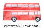 Bright Red Double Decker Bus...