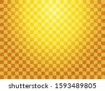 japanese pattern and gold paper ... | Shutterstock . vector #1593489805