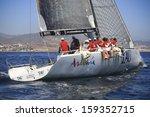 malaga  spain  yachts race...   Shutterstock . vector #159352715