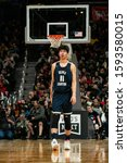 Small photo of December 15th, 2019: Harold Yu (11) during the H.S. basketball game between the St. V. Irish and Sierra Canyon Trailblazers at Nationwide Arena in Columbus, OH. Mark Alberti/1022