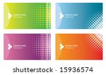 Set Of Business Cards  Each...