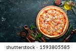 Traditional Pizza With Tuna And ...