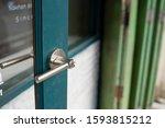 With The Aluminium Door Handle  ...