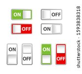 icon on and off toggle switch...