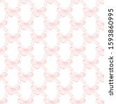 Cute Seamless Pattern With Bows....