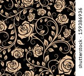 Seamless Pattern With Rose...