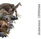 wild animals collection... | Shutterstock . vector #159392666