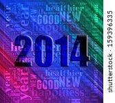 happy new year 2014 info text... | Shutterstock . vector #159396335