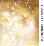 glitter golden background ... | Shutterstock . vector #159404045