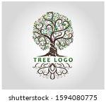 Beautiful Abstract Tree Logo...