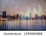 financial graph on night city... | Shutterstock . vector #1594084888