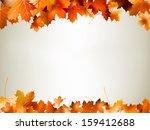 Colorful Autumn Leaves Falling...