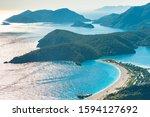 Oludeniz Bay With Blue Water...