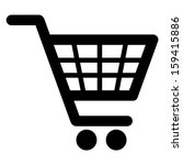 shopping cart icon  vector  | Shutterstock .eps vector #159415886