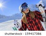 Ski  Skier  Sun And Winter Fun...