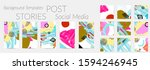 social media story templates.... | Shutterstock .eps vector #1594246945