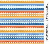 vector ethnic seamless pattern... | Shutterstock .eps vector #1594338352