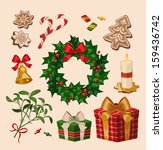 Christmas Decoration Objects....