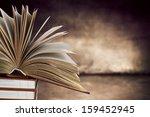 open book  | Shutterstock . vector #159452945