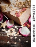 Oatmeal Soap  With Roses
