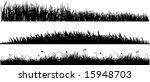 three variants of black... | Shutterstock . vector #15948703