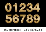 3d text with gold color  ... | Shutterstock . vector #1594876255