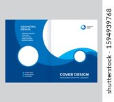 cover design for presentations... | Shutterstock .eps vector #1594939768