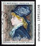 France   Circa 1968  A Stamp...