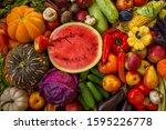 Fall Harvest Cornucopia. Happy...