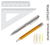 vector illustration set of... | Shutterstock .eps vector #159524936