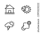 Weather Icon Set Including...