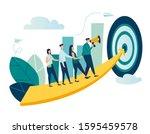 vector illustration of people... | Shutterstock .eps vector #1595459578