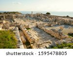 Ruins Of Kourion Ancient City...