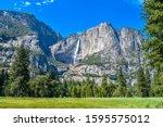 Mountain View In Yosemite...