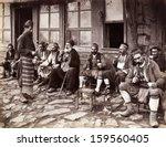 istanbul turkey circa 1900's  ... | Shutterstock . vector #159560405