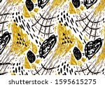 abstract geometric shapes...   Shutterstock . vector #1595615275