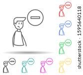 deleting friend multi color...