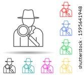 detective multi color style...